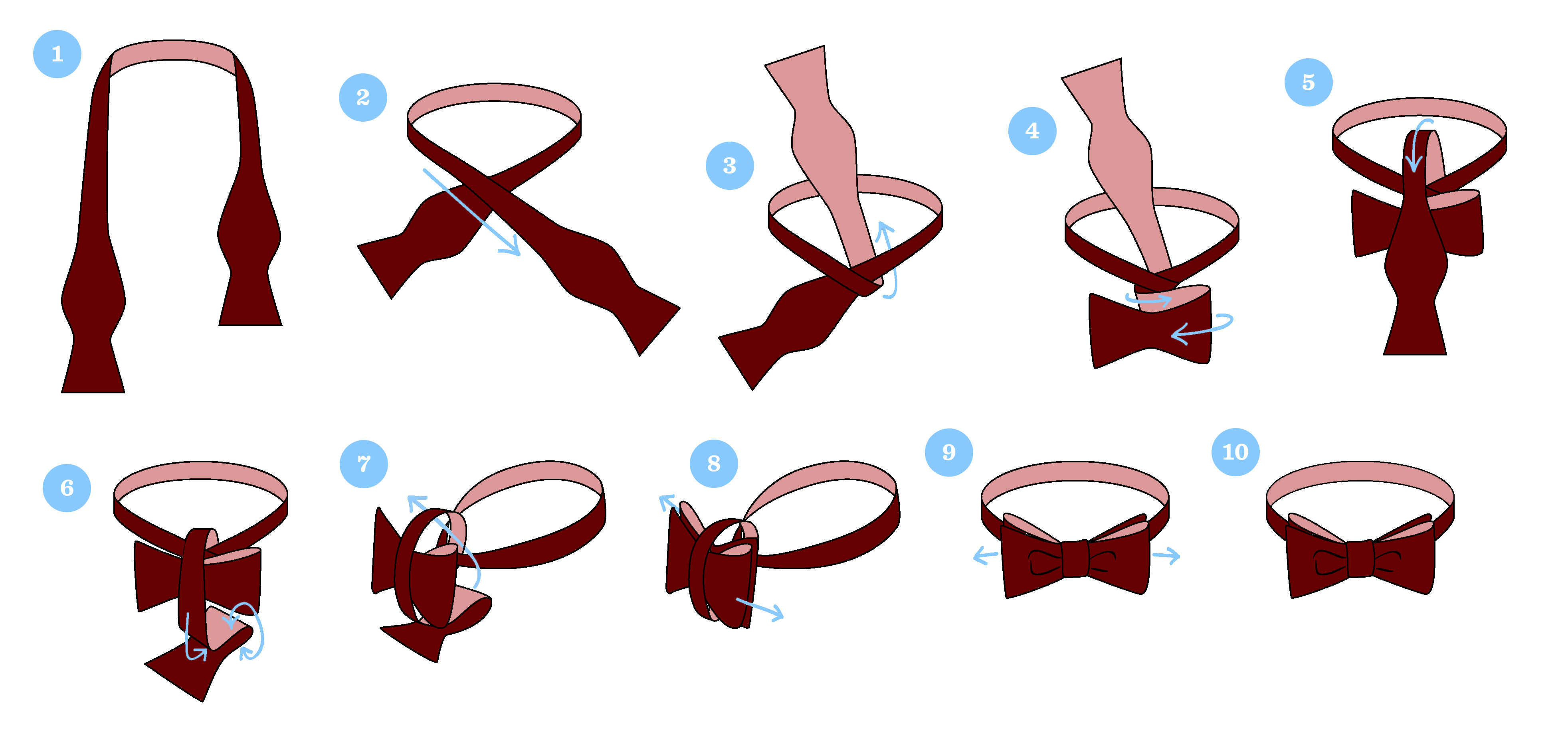 How To Tie A Bow Tie Kys Bow Ties