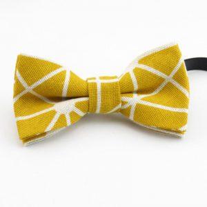 Golden Zen Bow Tie