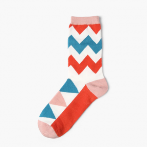 Ziggy Zag Colorful Socks