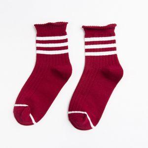 College Stripes Colorful Socks